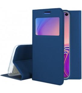 """Dėklas """"Smart Look"""" Samsung G970 S10e tamsiai mėlynas"""