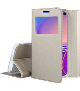 """Dėklas """"Smart Look"""" Samsung G970 S10e auksinis"""