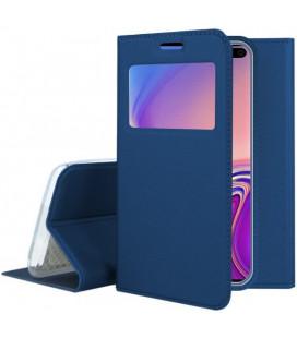 """Dėklas """"Smart Look"""" Samsung G975 S10 Plus tamsiai mėlynas"""