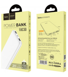 Išorinė baterija POWER BANK HOCO J26 10000mAh balta