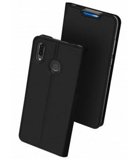 """Juodas atverčiamas dėklas Huawei P Smart Z telefonui """"Dux Ducis Skin"""""""