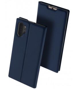 """Mėlynas atverčiamas dėklas Samsung Galaxy Note 10 Plus telefonui """"Dux Ducis Skin"""""""