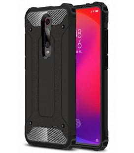 """Juodas dėklas Xiaomi Mi 9T telefonui """"Hybrid Armor Case"""""""