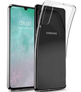 """Skaidrus silikoninis dėklas Samsung Galaxy A70 telefonui """"Clear"""""""