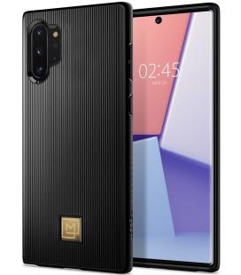 "Juodas dėklas Samsung Galaxy S10 telefonui ""Spigen La Manon Classy"""