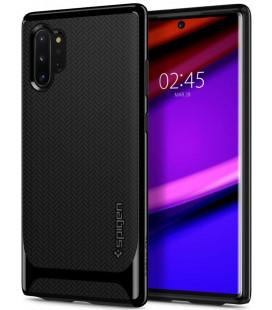 """Juodas dėklas Samsung Galaxy Note 10 Plus telefonui """"Spigen Neo Hybrid"""""""