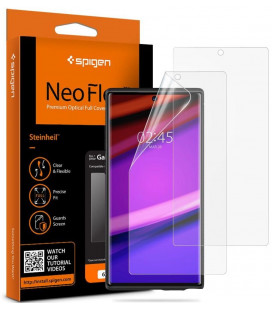 "Apsauginės ekrano plėvelės Samsung Galaxy Note 10 Plus telefonui ""Spigen Neo Flex HD"""
