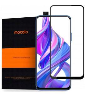 """Juodas apsauginis grūdintas stiklas Huawei P Smart Z telefonui """"Mocolo"""""""