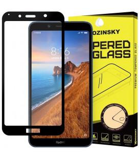 """Juodas apsauginis grūdintas stiklas Xiaomi Redmi 7A telefonui """"Wozinsky Full Glue CF"""""""