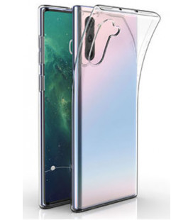 """Skaidrus silikoninis dėklas Samsung Galaxy Note 10 telefonui """"Clear"""""""