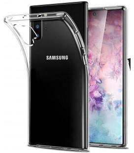 """Skaidrus silikoninis dėklas Samsung Galaxy Note 10 Plus telefonui """"Clear"""""""
