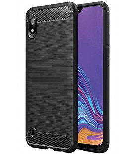 """Juodas dėklas Samsung Galaxy A10 telefonui """"Tech-Protect"""""""
