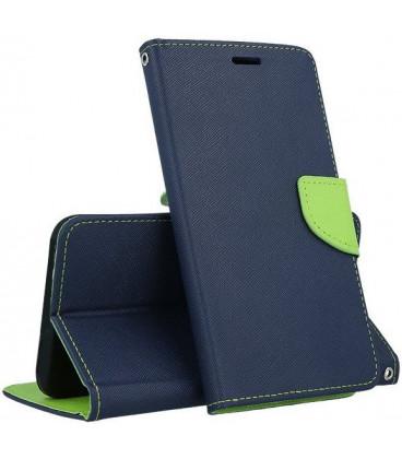 """Mėlynas atverčiamas dėklas Samsung Galaxy A10 telefonui """"Telone Fancy"""""""