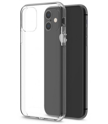 "Skaidrus silikoninis dėklas Apple iPhone 11 telefonui ""Clear"""