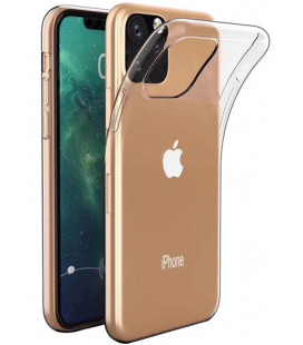"Skaidrus silikoninis dėklas Apple iPhone 11 Pro Max telefonui ""Clear"""