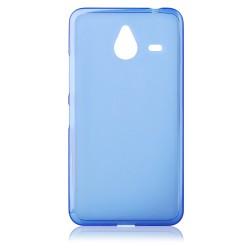 "Mėlynas silikoninis dėklas Microsoft Lumia 640 XL telefonui ""Frosted"""