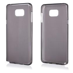 """Juodas silikoninis dėklas Samsung Galaxy Note 5 N920 telefonui """"Frosted"""""""