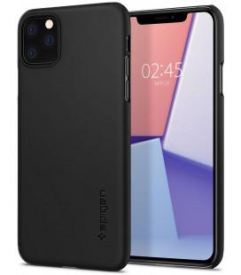 "Juodas dėklas Apple iPhone 11 Pro telefonui ""Spigen Thin Fit"""