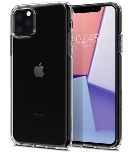 """Skaidrus dėklas Apple iPhone 11 Pro Max telefonui """"Spigen Crystal Hybrid"""""""