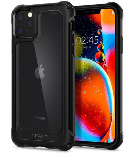 "Juodas dėklas Apple iPhone 11 Pro Max telefonui ""Spigen Gauntlet"""