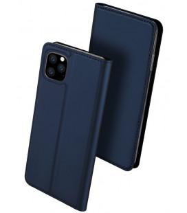 """Mėlynas atverčiamas dėklas Apple iPhone 11 Pro Max telefonui """"Dux Ducis Skin Pro"""""""