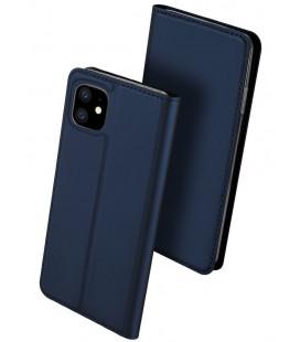 """Mėlynas atverčiamas dėklas Apple iPhone 11 telefonui """"Dux Ducis Skin Pro"""""""