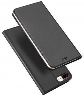 """Juodas atverčiamas dėklas Apple iPhone 7 Plus / 8 Plus telefonui """"Dux Ducis Skin Pro"""""""