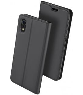 """Juodas atverčiamas dėklas Apple iPhone XR telefonui """"Dux Ducis Skin Pro"""""""
