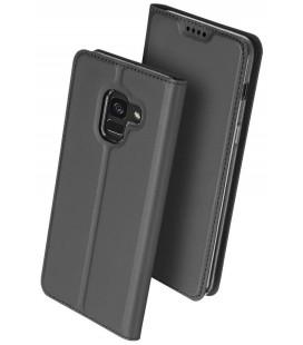 """Juodas atverčiamas dėklas Samsung Galaxy A6 2018 telefonui """"Dux Ducis Skin Pro"""""""