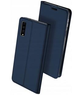 """Mėlynas atverčiamas dėklas Samsung Galaxy A7 2018 telefonui """"Dux Ducis Skin Pro"""""""