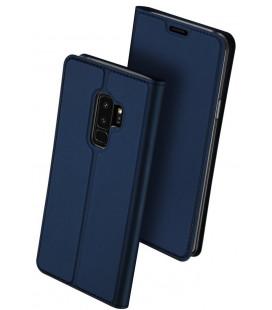 """Mėlynas atverčiamas dėklas Samsung Galaxy S9 Plus telefonui """"Dux Ducis Skin Pro"""""""