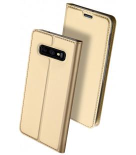 """Dėklas Dux Ducis """"Skin Pro"""" Samsung G970 S10e aukso spalvos"""
