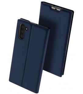 """Mėlynas atverčiamas dėklas Samsung Galaxy Note 10 telefonui """"Dux Ducis Skin Pro"""""""