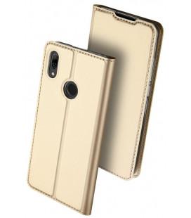 """Dėklas Dux Ducis """"Skin Pro"""" Huawei P Smart 2019 aukso spalvos"""