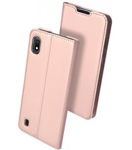 """Dėklas Dux Ducis """"Skin Pro"""" Samsung A105 A10 rožinis-auksinis"""