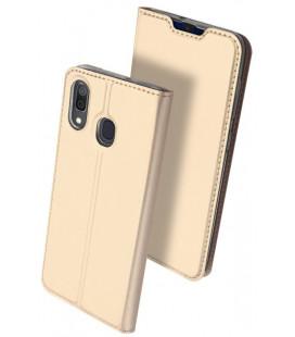 "Dėklas Dux Ducis ""Skin Pro"" Samsung A202 A20e aukso spalvos"