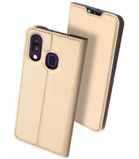 "Dėklas Dux Ducis ""Skin Pro"" Samsung A405 A40 aukso spalvos"