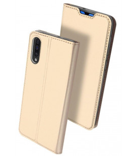 "Dėklas Dux Ducis ""Skin Pro"" Samsung A705 A70 aukso spalvos"