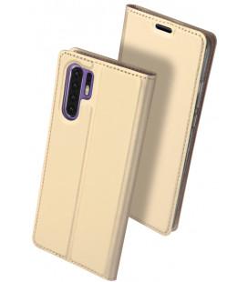 """Dėklas Dux Ducis """"Skin Pro"""" Huawei P30 Pro aukso spalvos"""
