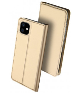 """Dėklas Dux Ducis """"Skin Pro"""" Apple iPhone 11 aukso spalvos"""