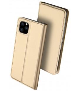 "Dėklas Dux Ducis ""Skin Pro"" Apple iPhone 11 Pro Max aukso spalvos"