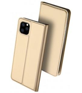 "Dėklas Dux Ducis ""Skin Pro"" Apple iPhone 11 Pro aukso spalvos"