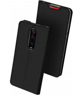 """Juodas atverčiamas dėklas Xiaomi Mi 9T / 9T Pro telefonui """"Dux Ducis Skin Pro"""""""