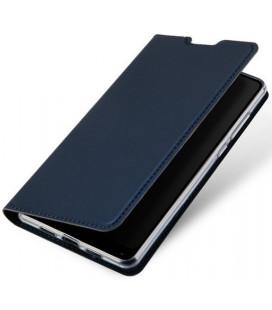 """Mėlynas atverčiamas dėklas Huawei Y5 2019 telefonui """"Dux Ducis Skin Pro"""""""