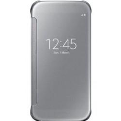 """Originalus auksinės spalvos atverčiamas dėklas """"Clear View Cover"""" Samsung Galaxy S6 G920 telefonui ef-zg920bse"""