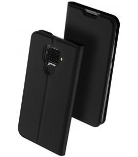 """Juodas atverčiamas dėklas Huawei Mate 30 Lite telefonui """"Dux Ducis Skin Pro"""""""