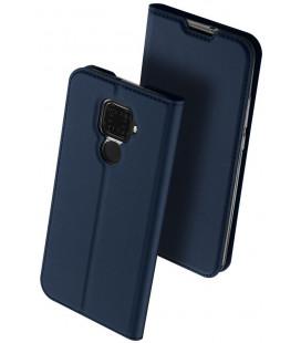 """Mėlynas atverčiamas dėklas Huawei Mate 30 Lite telefonui """"Dux Ducis Skin Pro"""""""