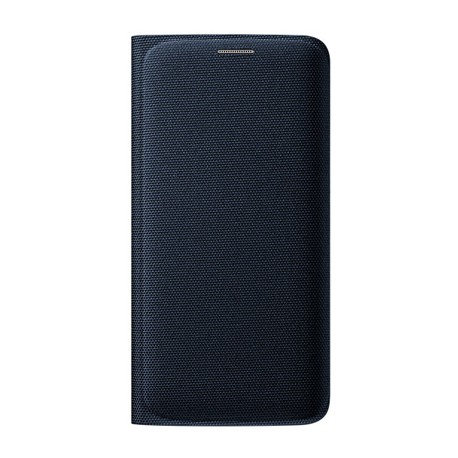 """Originalus juodas atverčiamas dėklas """"Flip Wallet"""" Samsung Galaxy S6 Edge G925 telefonui ef-wg925bbe"""