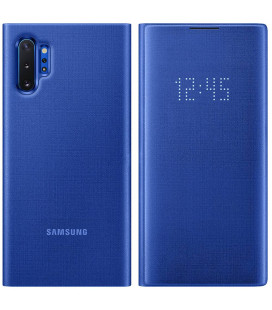 "Originalus mėlynas dėklas ""LED View Cover"" Samsung Note 10 Plus telefonui ""EF-NN975PLEGWW"""