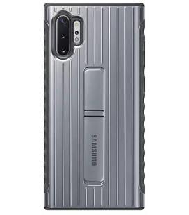 """Originalus sidabrinės spalvos dėklas """"Protective Standing Cover"""" Samsung Note 10 Plus telefonui """"EF-RN975CSEGWW"""""""